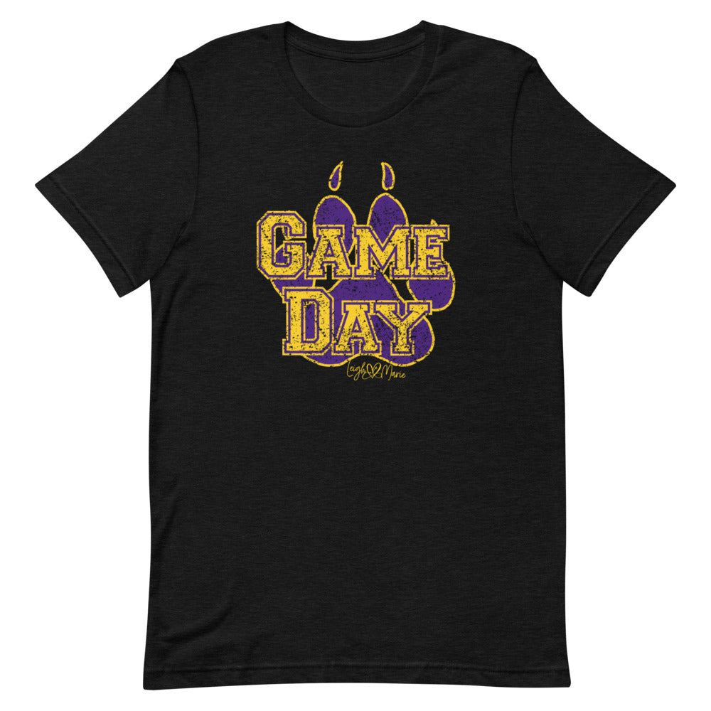 Game Day Paw Short-Sleeve Unisex T-Shirt