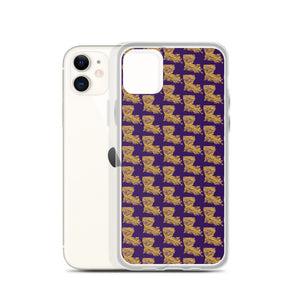 La Tiger Pattern iPhone Case