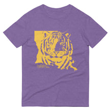 Load image into Gallery viewer, Purple & Gold Short-Sleeve T-Shirt