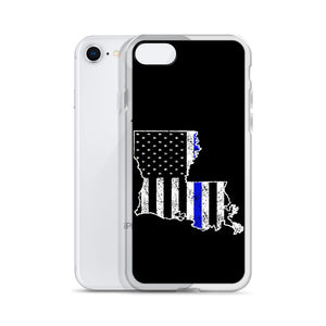 Back the Blue LA iPhone Case