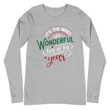 Load image into Gallery viewer, Most Wonderful TIme Unisex Long Sleeve Tee