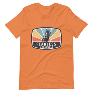 Fearless and Flawless Sunset Short-Sleeve Unisex T-Shirt