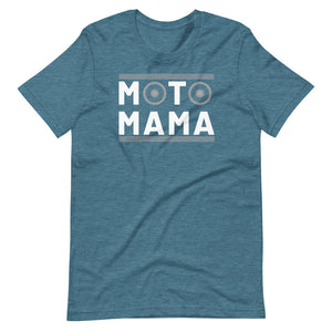 Moto Mama Wheels Short-Sleeve Unisex T-Shirt