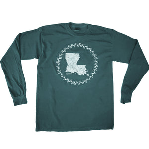 La. Wreath Long Sleeve Shirt