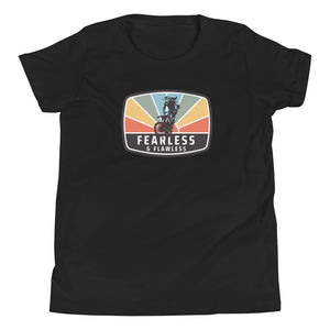 Fearless & Flawless Sunset Youth Short Sleeve T-Shirt