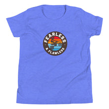 Load image into Gallery viewer, Fearless & Flawless Circle Youth Short Sleeve T-Shirt