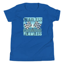 Load image into Gallery viewer, Fearless & Flawless flag Youth Short Sleeve T-Shirt