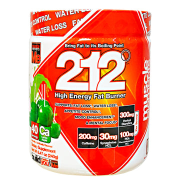 212 HIGH ENERGY Fat Burner by Muscle Elements