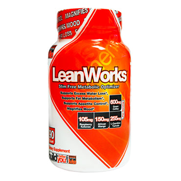 Lean Works 90 Capsules by Muscle Elements