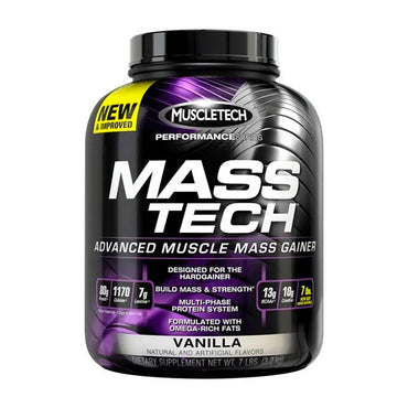 MassTech Mass Gainer by MuscleTech 7Lb