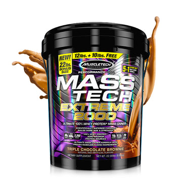 MassTech Mass Gainer by MuscleTech 22Lb