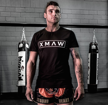 XMAW Series Fitted T-Shirt - Black