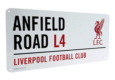 Anfield street sign