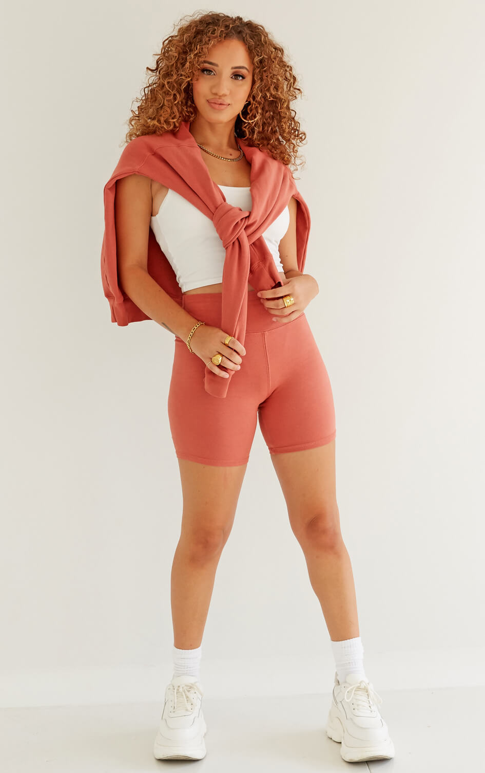 shop-dana-scott-rust-brick-spandex-biker-short