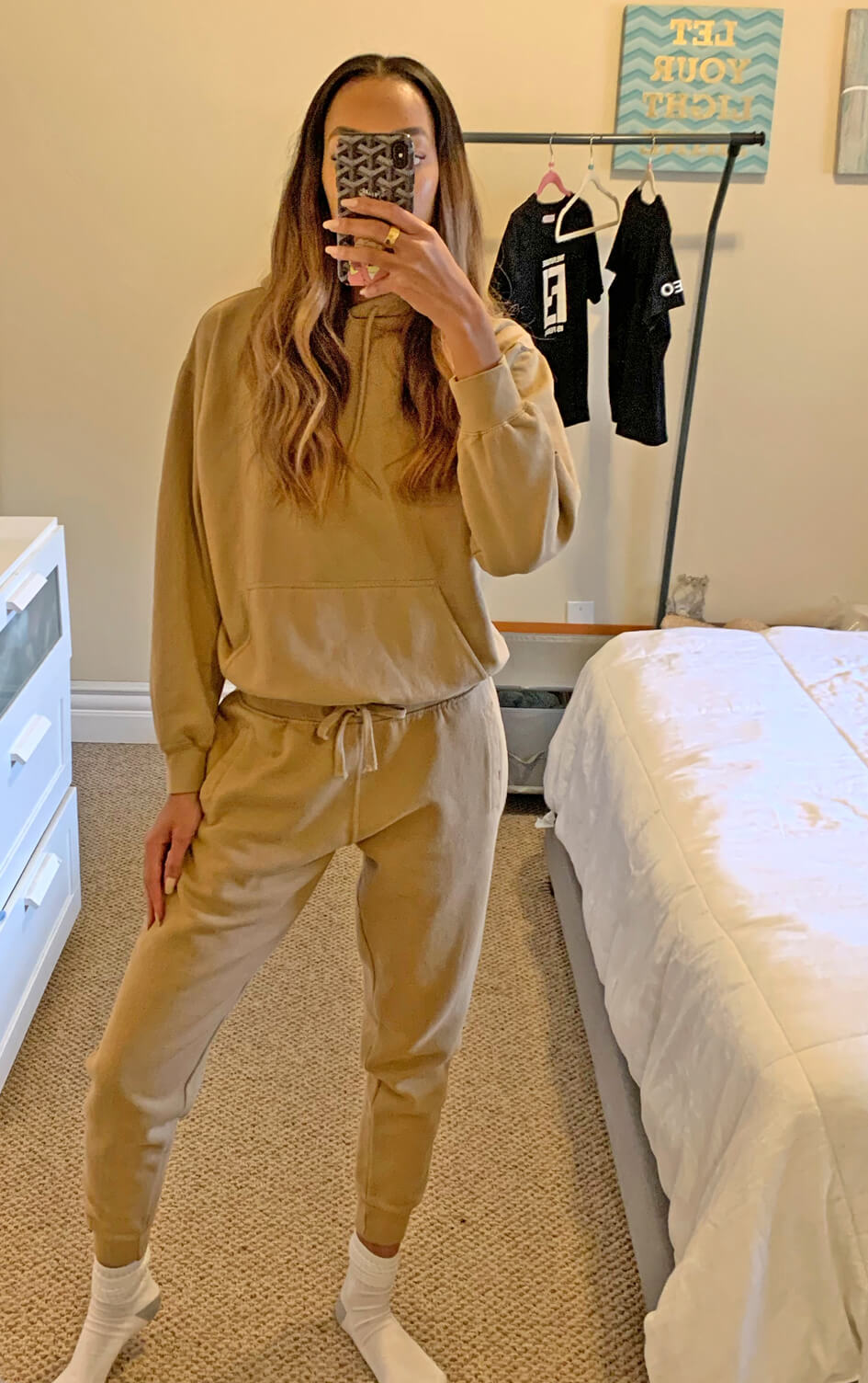 tan-fleece-stay-home-hoodie-sweatshirt-with-drawcord-lounge-jogger-with-drawcord-matching-sweatsuit-set