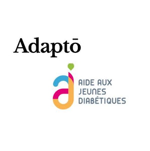 Fundraising Charity for French youth diabetics organisation AJD