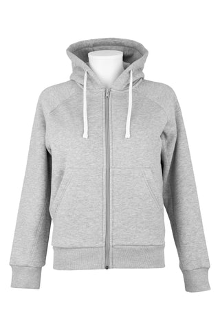 Sweat à capuche Enfant - Gris chiné