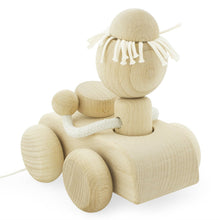 Load image into Gallery viewer, Children's Car Pull along Wooden Toy