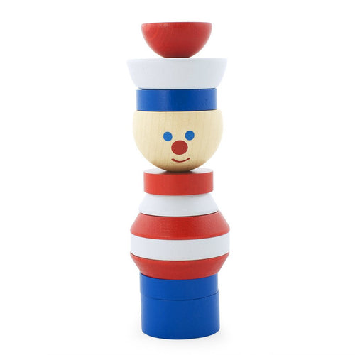 Children's wooden stacking toy