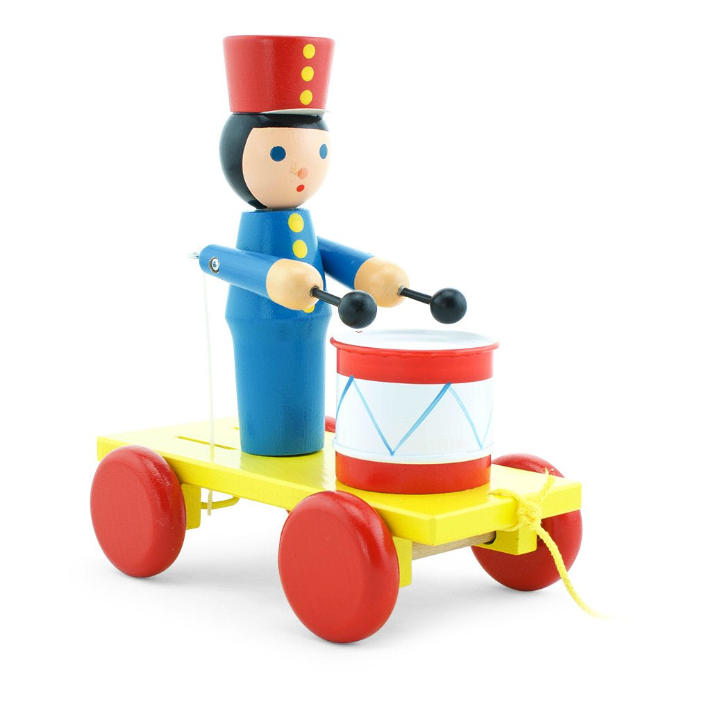 Children's wooden toy soldier