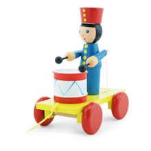 Load image into Gallery viewer, Children's wooden toy soldier