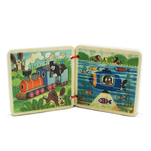 Wooden Toy Book