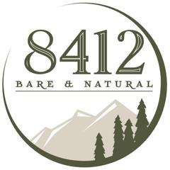 8412 bare & natural logo