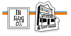 indiana rug co inrugco studio and gift shop logo