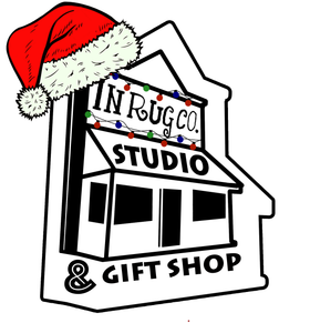 InRugCo Studio & Gift Shop Indiana Rug Co. Christmas Logo Mishawaka, Indiana