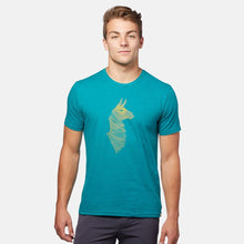 Load image into Gallery viewer, Topo Llama T-shirt, Maritime - Men's | Cotopaxi