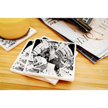 Load image into Gallery viewer, Rosies at Work B-17 Flying Fortress Airplane Ceramic Coaster