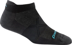 Coolmax® Vertex 1/4 Ultra-Lightweight w/Cushion Performance Sock - Women's | Darn Tough - InRugCo Studio & Gift Shop