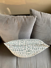"Load image into Gallery viewer, 18"" Green Primitive Print Pillow Covers - InRugCo Studio & Gift Shop"