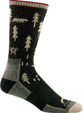 Load image into Gallery viewer, ABC Boot Sock Cushion - Men's - Black | Darn Tough