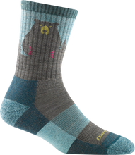 Load image into Gallery viewer, Bear Town Micro Crew Light Cushion Sock - Women's | Darn Tough - InRugCo Studio & Gift Shop