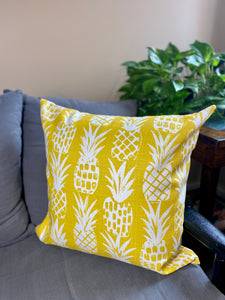 "20"" Pineapples Pillow Covers - InRugCo Studio & Gift Shop"