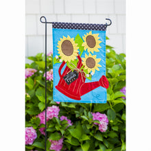Load image into Gallery viewer, Garden Sized Flag Stand 1pc | Evergreen - InRugCo Studio & Gift Shop