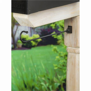 Mailbox Bracket Flag Hanger | Evergreen - InRugCo Studio & Gift Shop