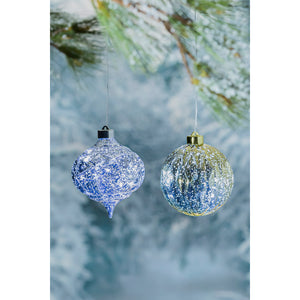 "5"" Shatterproof Outdoor Safe Battery Operated LED Ornament"