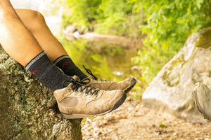 Hiker Boot Sock Full Cushion - Men's - Black | Darn Tough