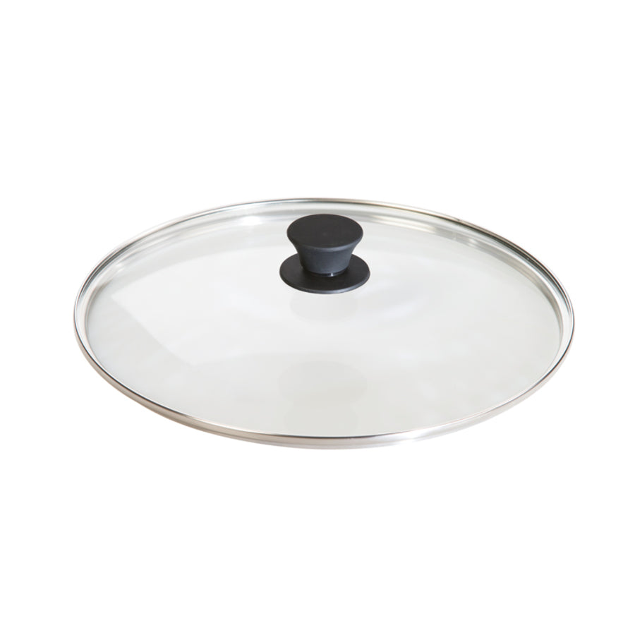 12 Inch Glass Lid | Lodge - InRugCo Studio & Gift Shop
