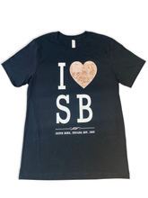 Load image into Gallery viewer, I love SB south bend indiana shirt