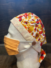Load image into Gallery viewer, Orange & Yellow Butterfly | Scrub Cap - InRugCo Studio & Gift Shop