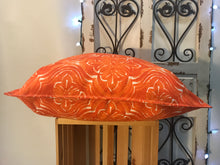 "Load image into Gallery viewer, 20"" Rustic Orange Pillow Cover - InRugCo Studio & Gift Shop"