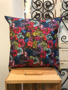 "20"" Wildflower Multi-Color Pillow Cover - InRugCo Studio & Gift Shop"