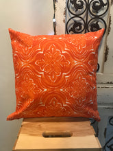 "Load image into Gallery viewer, 20"" Rustic Orange Pillow Covers - InRugCo Studio & Gift Shop"