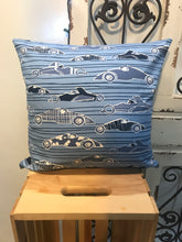 "Load image into Gallery viewer, 18"" Race Cars Pillow Covers - InRugCo Studio & Gift Shop"