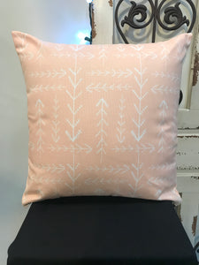 "18"" Pink Arrows Pillow Covers - InRugCo Studio & Gift Shop"