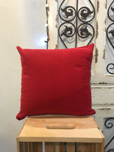 "Load image into Gallery viewer, 18"" Roses, Polka Dot & Red Suede Pillow Covers - InRugCo Studio & Gift Shop"