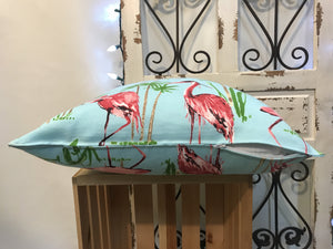 "18"" Flamingo Pillow Covers - InRugCo Studio & Gift Shop"